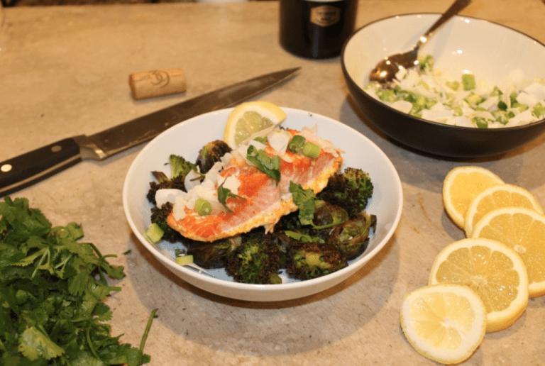Coconut Curry Salmon Recipe
