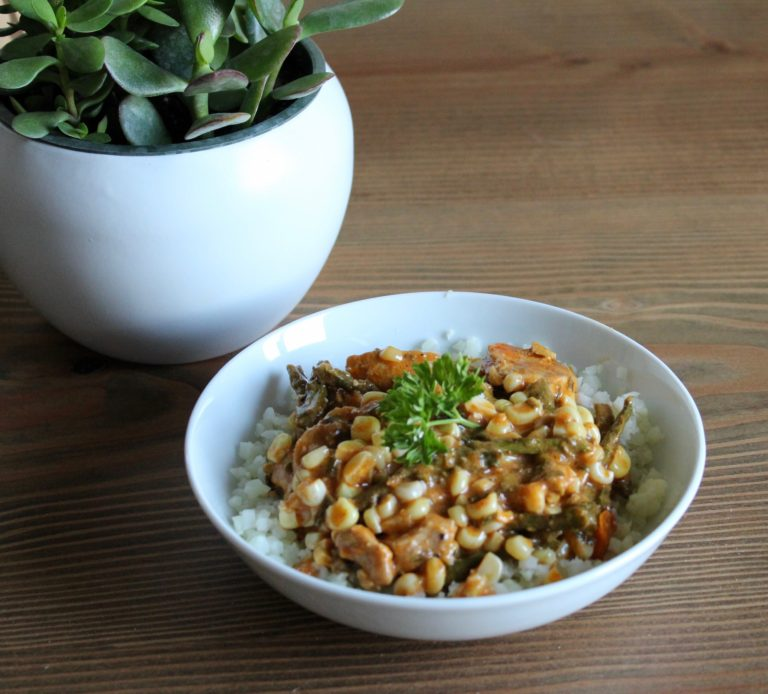 Healthy Coconut Red Curry