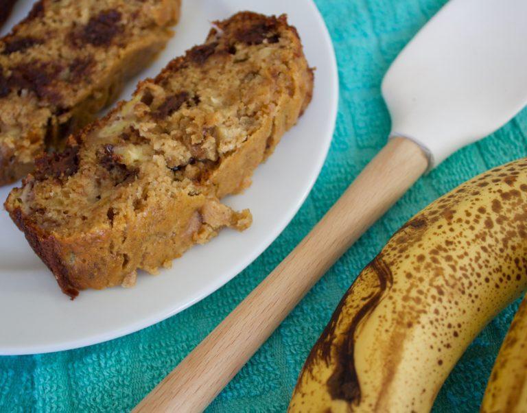 Healthyish Banana Bread
