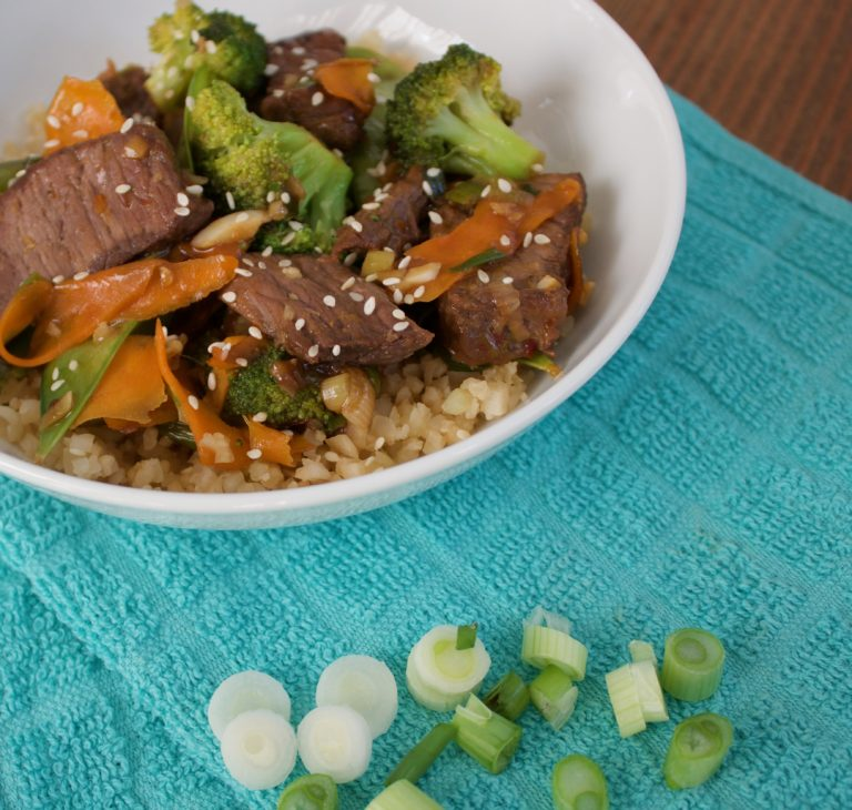 Healthy Beef & Broccoli Recipe