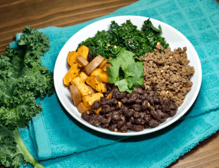 Sautéed Kale Bowl with Protein