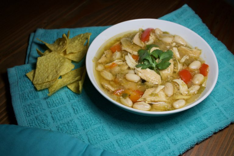 Crockpot White Chicken Chili