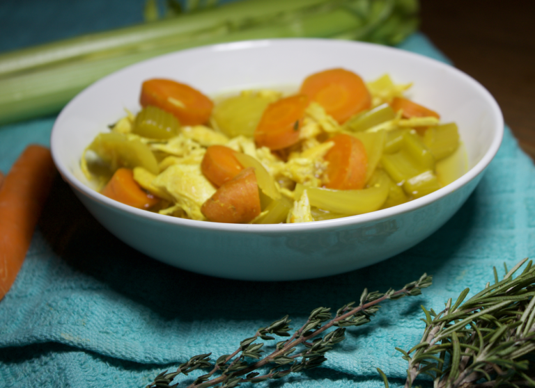Turmeric Chicken Vegetable Soup