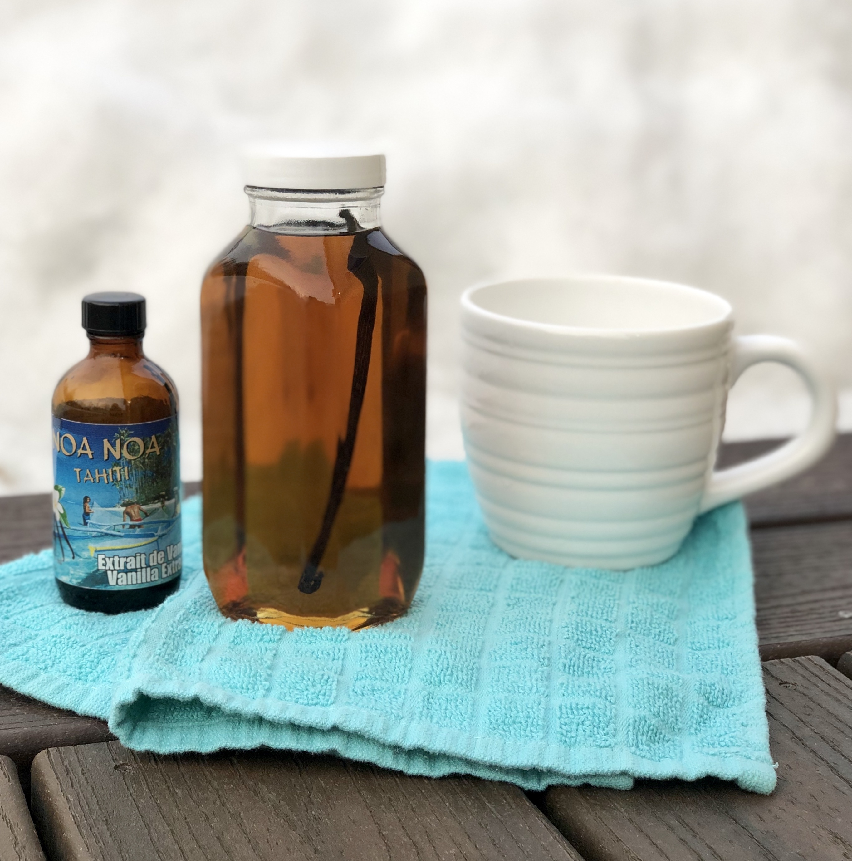 Easy Homemade Vanilla Syrup