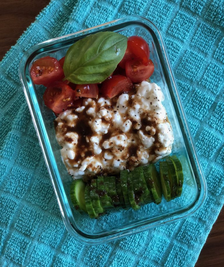 Healthy Cottage Cheese Caprese